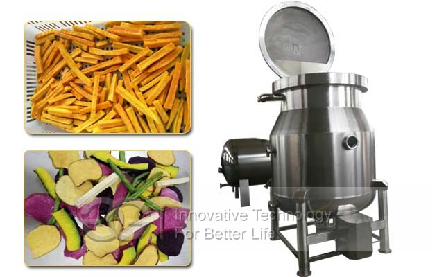 vacuum fried chips machine