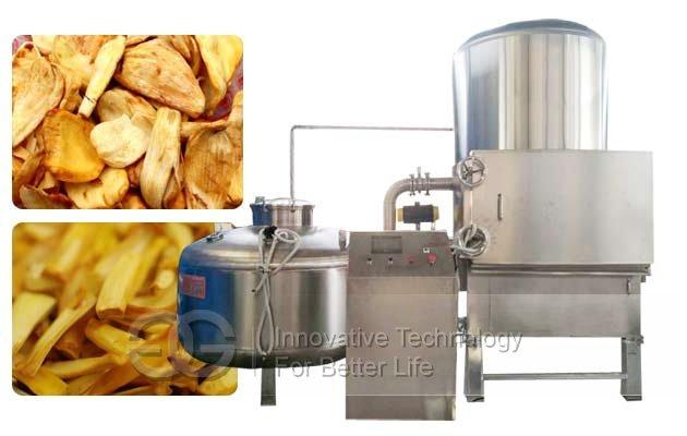 jackfruit vacuum fryer machine