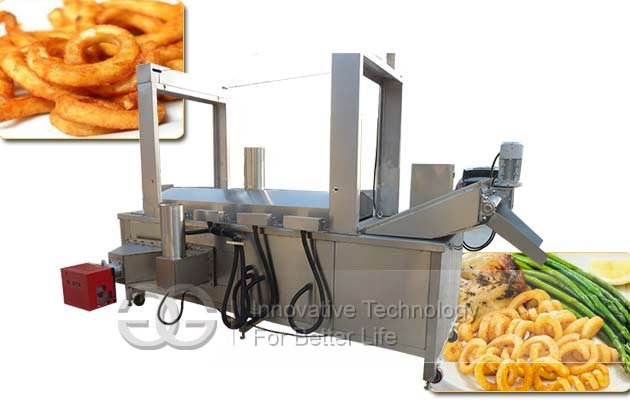 curly fries continuous fryer