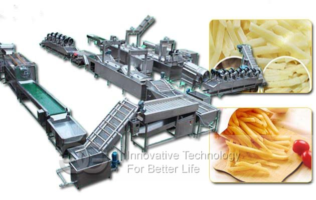 potato chips fries machine for sale