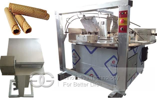waffle rolls making machine