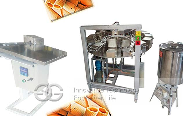 waffer rolls production line