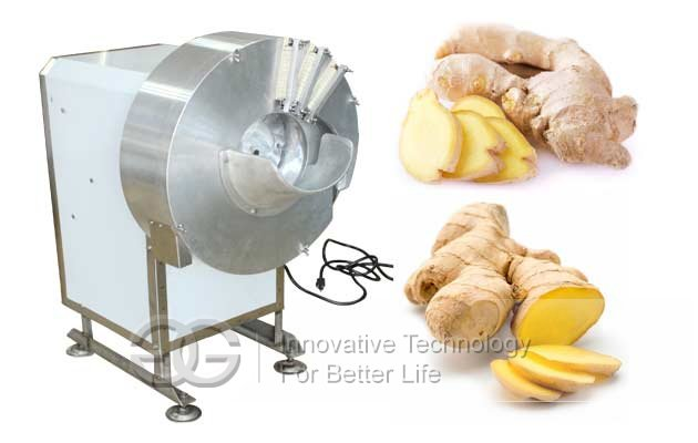 ginger slice cutting machine