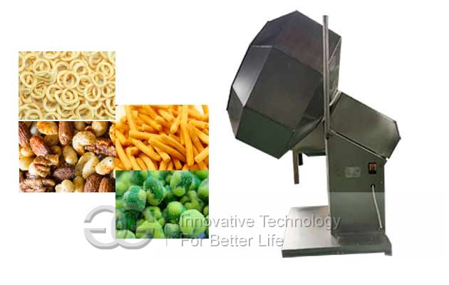 potato chips namkeen seasoning machine