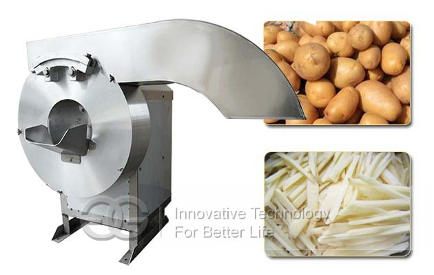 potato strips cutting machine