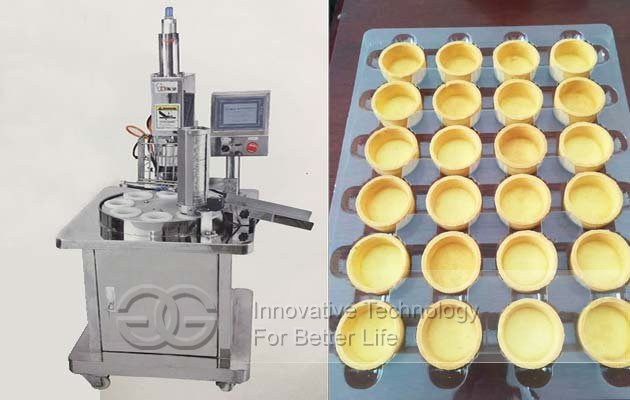 tart shells making machine