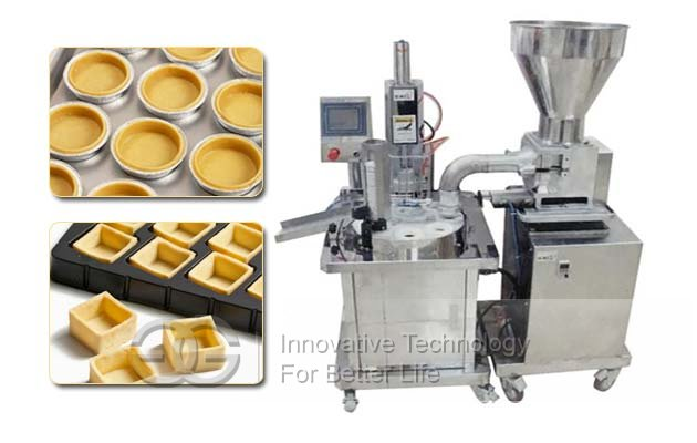pie tart forming machine