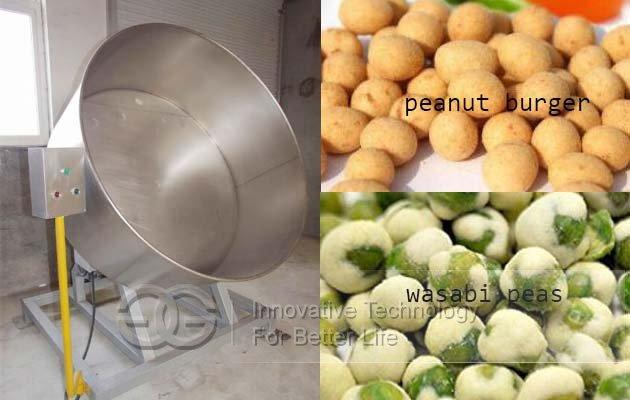wasabi peas machine for sale