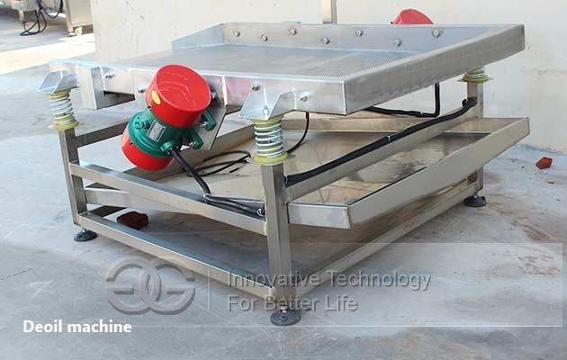 chin chin deoiling machine