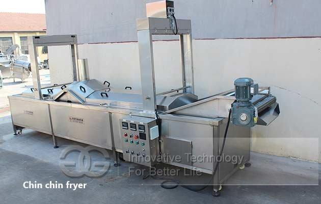 chin chin fryer machine