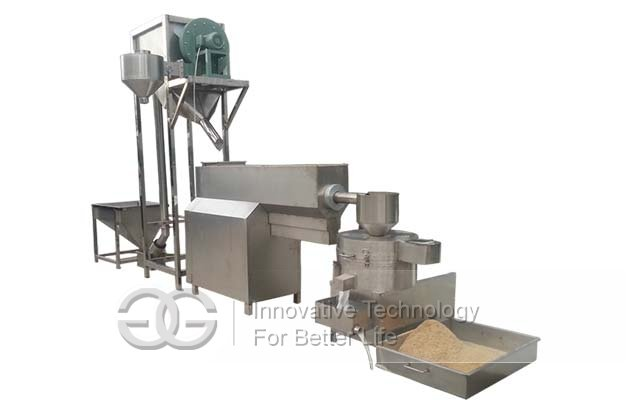 sesame washing drying machine