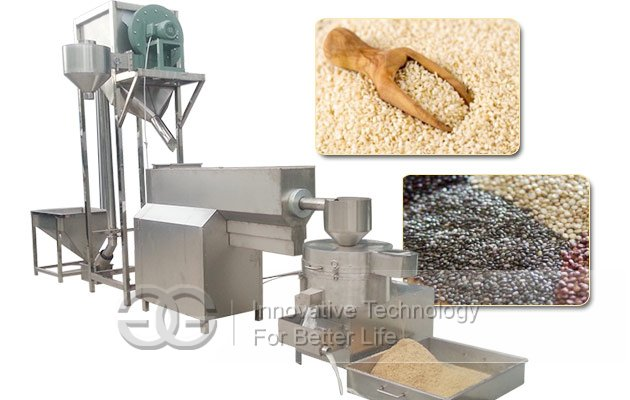 sesame cleaning equipment