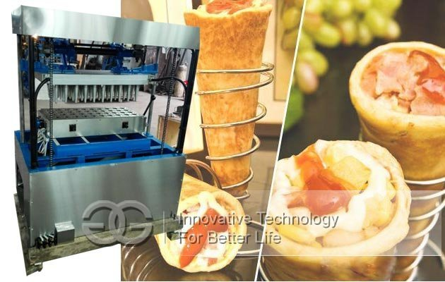 commercial pizza cones equipment