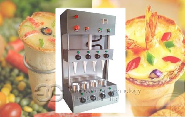 4 cones pizza maker