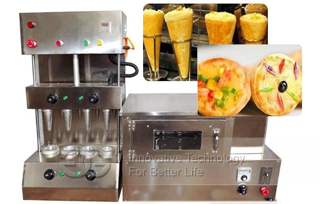 pizza cones equipment cost