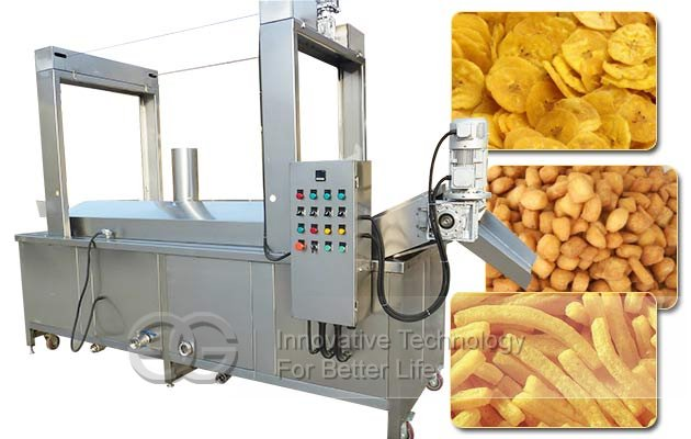 plantain chips continuous fryer