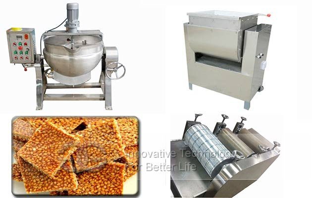 automatic sesame candy forming machine