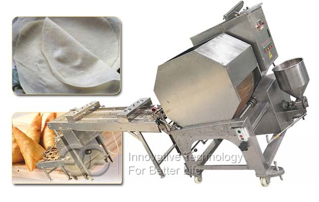 automatic samosa sheet making machine