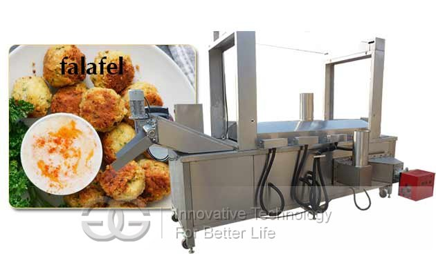 commercial fried falafel machine