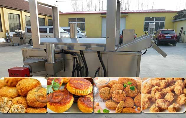 industrial fried meatball machine price