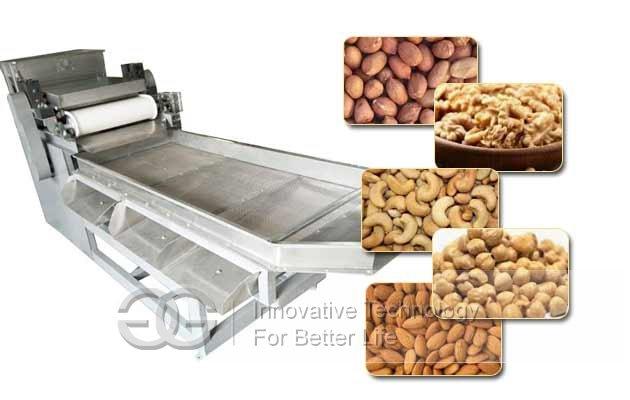 dry nut chopping cutting machine