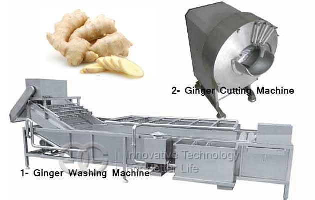 ginger chips processing line