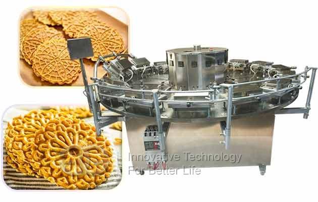 pizzelle cookie baking machine