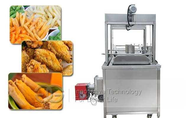 continuous tameles frying machine