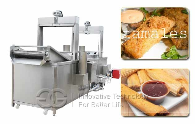 tameles automatic frying machine