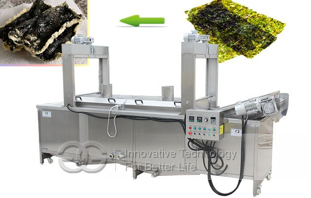 seaweed fryer machine