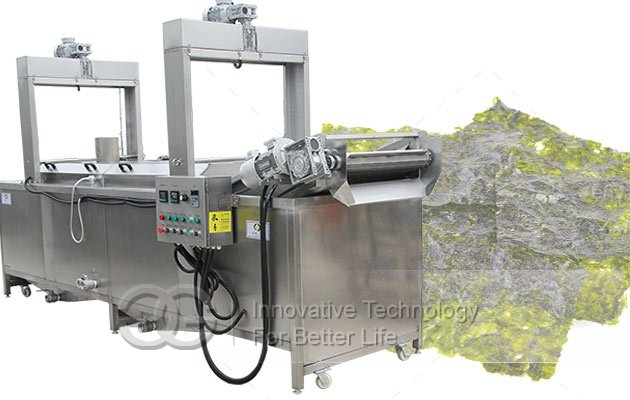 seaweed frying machine