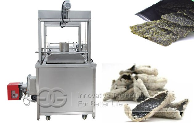 seaweed deep fryer machine