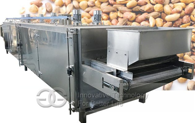 continuous soybean roaster