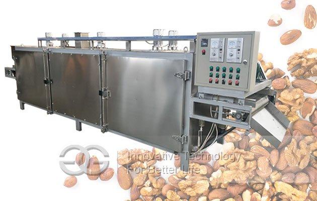 almond roasting machine