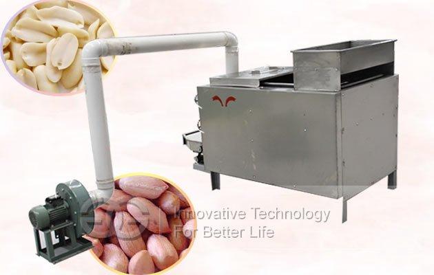 groundnut half cutting machine