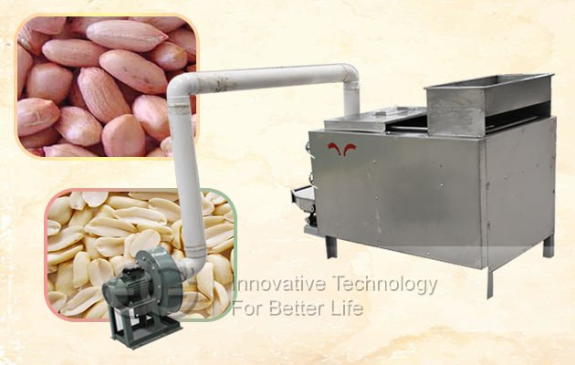 peanut peeler and breaker