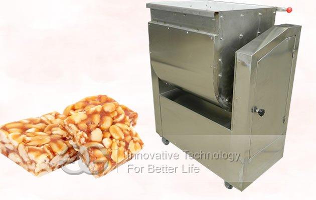peanut candy mixer machine
