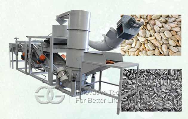 hemp seeds sheller