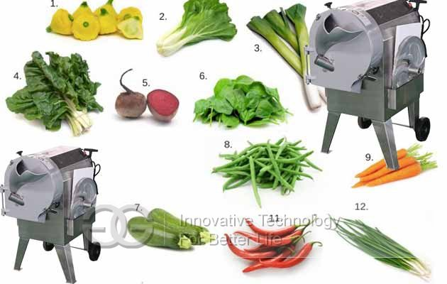 vegetables dicer machine