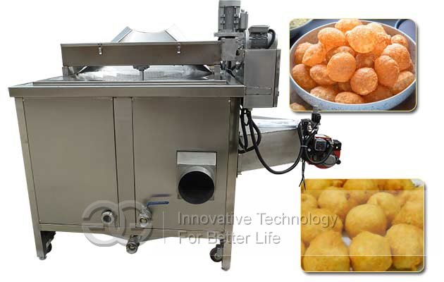 snack chips fryer machine