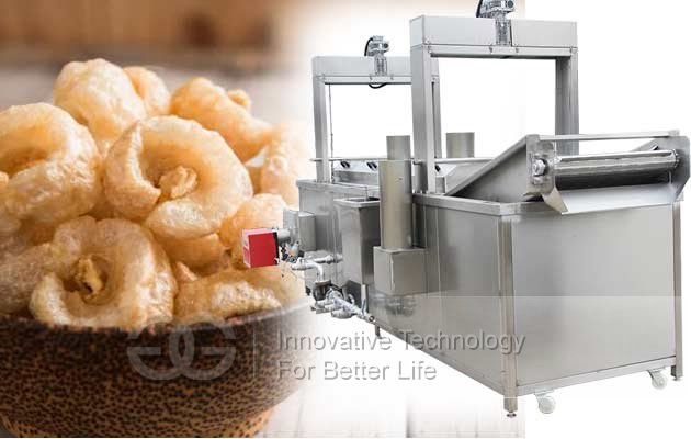 commercial pork skin frying machine price