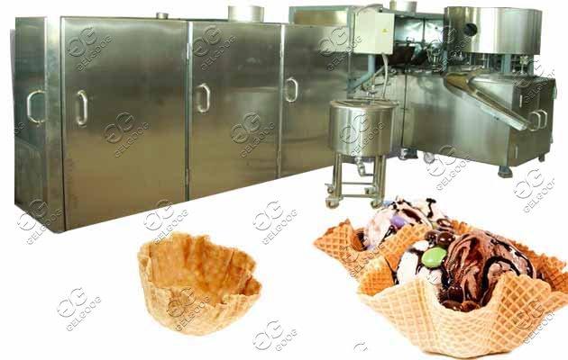 ice cream waffle bowls