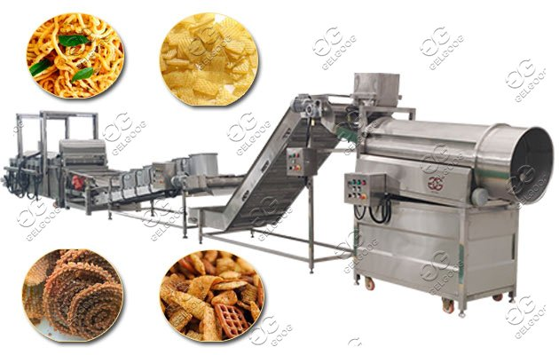 snack chips frying plant