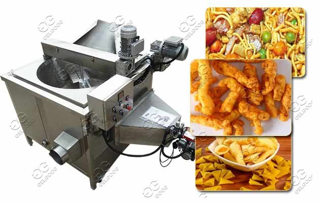 namkeen fryums frying machine price