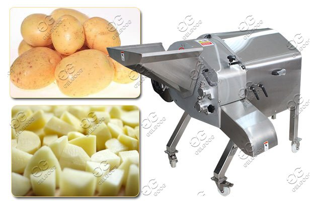 potato cubes cutting machine