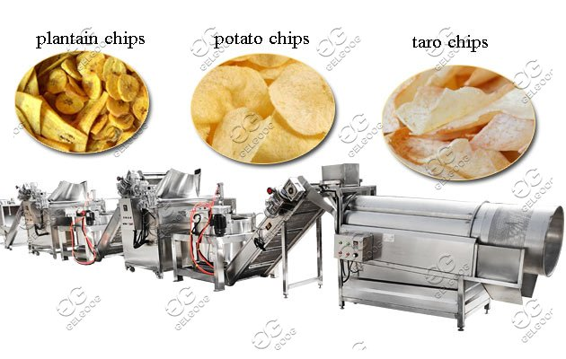 plantain chips processing line price