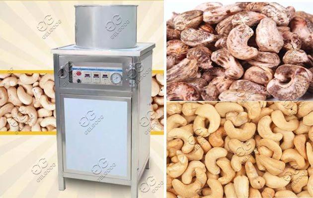 cashew nut skin removing machine supplier