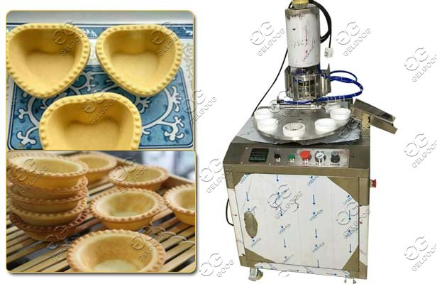 egg tart shells machine