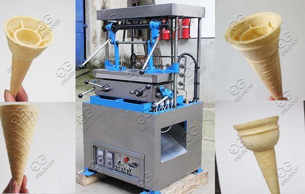 wafer ice cream cones machine