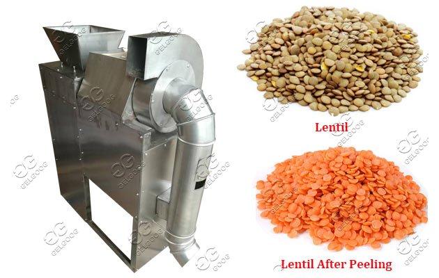 lentils bean peeler